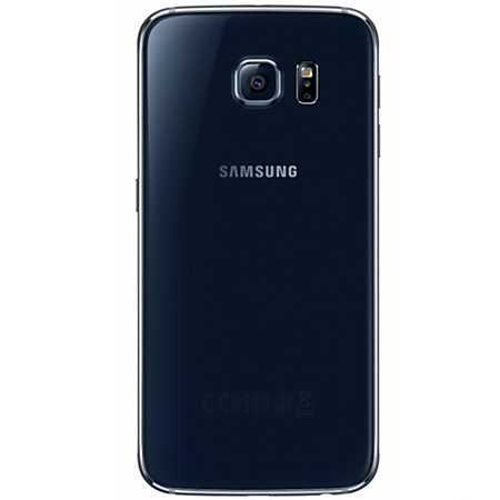 samsung galaxy s6 g920a refurbished cell phone black psc100030 by office depot officemax. Black Bedroom Furniture Sets. Home Design Ideas