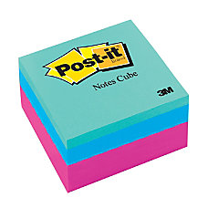 Post it Notes Cube 3 x