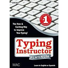 Typing Instructor Platinum MAC Download Version