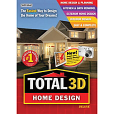 Total 3D Home Design Deluxe 11