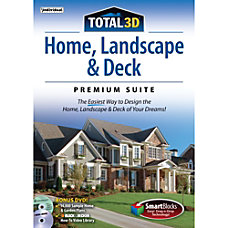 Total 3D Home Landscape Deck Premium