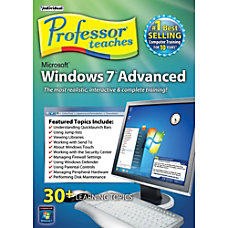 Professor Teaches Windows 7 Advanced Download