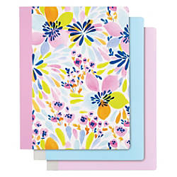 Divoga Composition Notebook Happy Floral Collection
