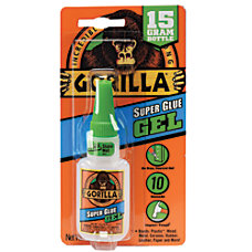 Gorilla Super Glue Gel 053 Oz