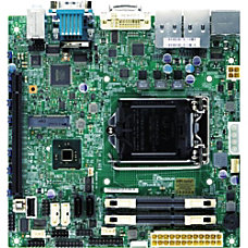 Supermicro X10SLV Q Desktop Motherboard Intel