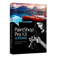Corel PaintShop Pro X8 Ultimate Download