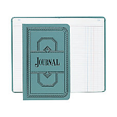Boorum Pease Canvas Account Book Journal