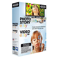 MAGIX PhotoStory easy Video easy HD