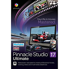 Pinnacle Studio 17 Ultimate Download Version