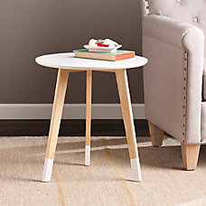 Southern Enterprises Neelan Accent Table Round