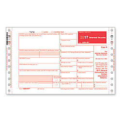 ComplyRight 1099 INT Self Mailer Inkjet
