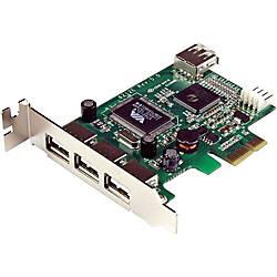 StarTechcom 4 Port PCI Express Low