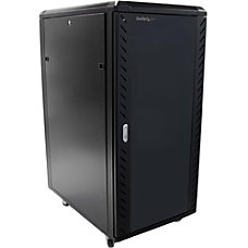 StarTechcom 25U 36in Knock Down Server