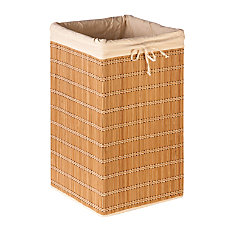 Honey Can Do Square Wicker Hamper
