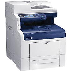 Xerox WorkCentre 6605DN Laser Multifunction Printer