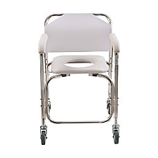 DMI Rolling Shower Transport Chair With