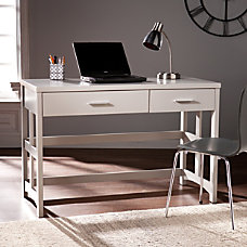 Southern Enterprises Eldridge Craftsman Desk Warm