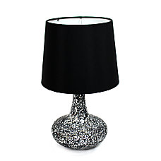 Simple Designs Mosaic Tile Table Lamp