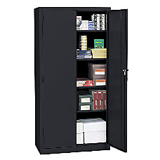 Realspace 72 Steel Storage Cabinet With