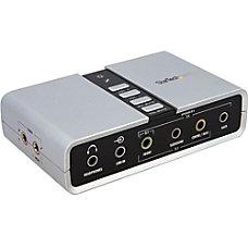 StarTechcom 71 USB Audio Adapter External