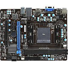 MSI A58M E33 Desktop Motherboard AMD