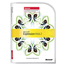 Microsoft Expression Web 20 Upgrade Traditional