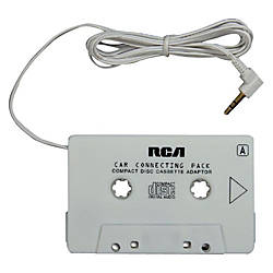 RCA MP3CD Player Audio Cassette Adapter
