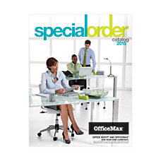 2016 OfficeMax Special Order Catalog