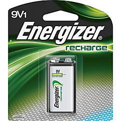 Energizer 9V Recharge Battery 9V Nickel