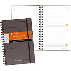 AT A GLANCE Undated Planning Notebook