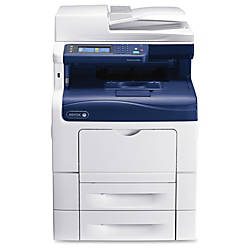 Xerox® WorkCentre 6605N Color All-In-One Printer, Copier, Scanner, Fax