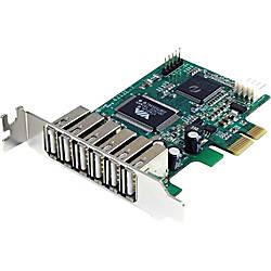 StarTechcom 7 Port PCI Express Low