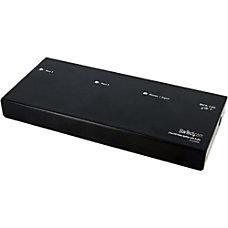 StarTechcom 2 Port DVI Video Splitter