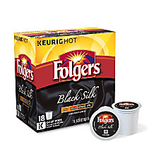 Folgers Gourmet Selections Pods Black Silk