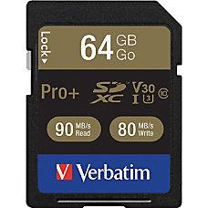 Verbatim Pro 64 GB SDXC TAA