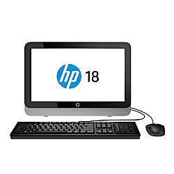"HP All-In-One Desktop Computer With 18.5"" Display & AMD E-1 Accelerated Processor , 18-5110"