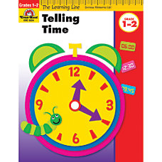 Evan Moor Learning Line Telling Time