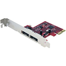 StarTechcom 2 Port SATA 6 Gbps