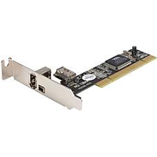 StarTechcom 3 Port PCI Low Profile