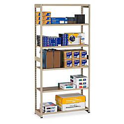 Tennsco Storage Rack 6 Tiers 76