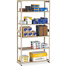 Tennsco Storage Rack 6 Tiers 76