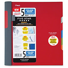Mead Five Star Notebook 200 Pages
