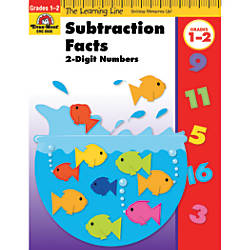 Evan Moor Learning Line Subtraction Facts