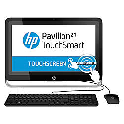 "HP Pavilion TouchSmart 21-h010 All-In-One Computer With 21.5"" Touch-Screen Display & AMD A4-5000 Accelerated Processor"