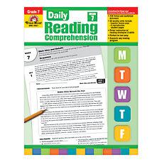 Evan Moor Daily Reading Comprehension Grade