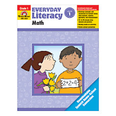 Evan Moor Everyday Literacy Math Grade