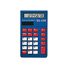 Texas Instruments TI 108 Calculators Teacher