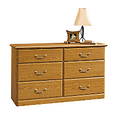 Sauder Orchard Hills 6 Drawer Dresser