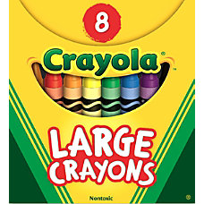 Crayola Large Crayon Set Assorted Colors