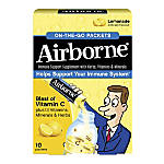 Airborne On The Go Packets Lemonade